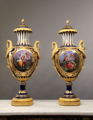 19th Century Porcelain Vases