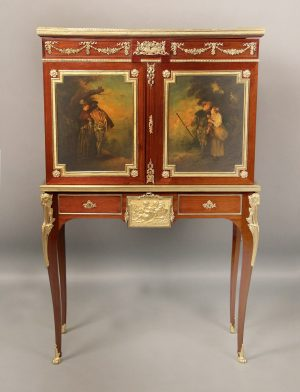 Louis XV Style Bronze Mounted Cabinet