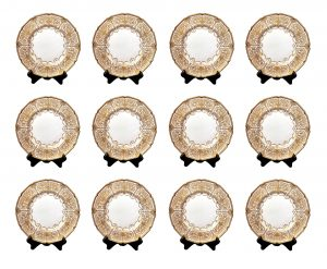 Antique 19th Century Porcelain Plates