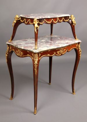 Elegant 19th Century Tea Tables