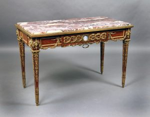 19th Century Gilt Bronze Center Table
