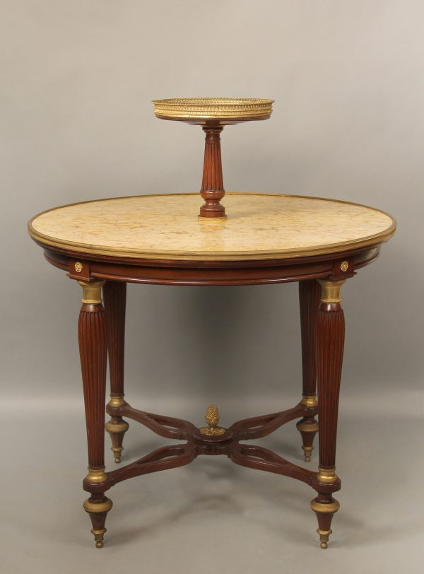 Gilt Bronze Mounted Pastry Table