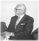 Black and White Photo of Charles Cheriff Wachman in 1956